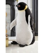 "Soft Faux Fur Emperor Penguin Large Realistic 40"" Tall (hc,mc) N17 - $841.50"