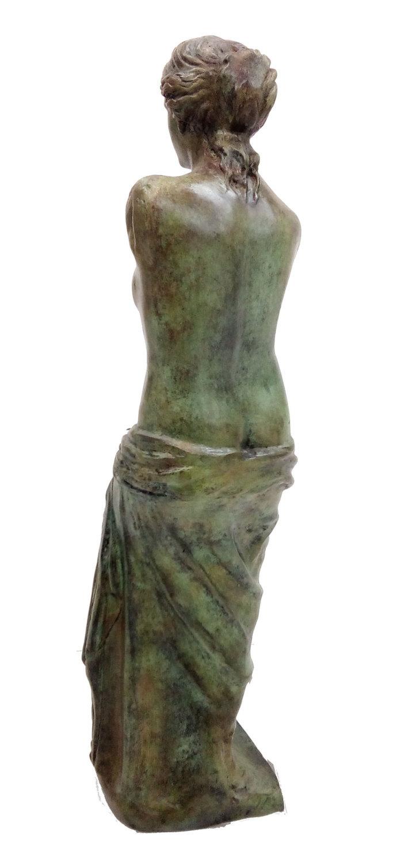 Aphrodite of Milos Great bronze sculpture Venus de Milo ...