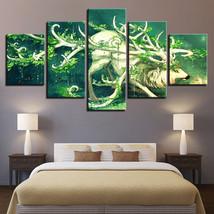 Wild Life Elk Print Picture  5 Piece Canvas Art Wall Art Picture Home Decor - $22.80+