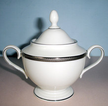 Lenox Tuxedo Platinum Covered Sugar Bowl Presidential Collection New - $109.90