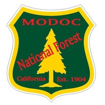 Modoc National Forest Sticker R3274 California You Choose Size - $1.45+