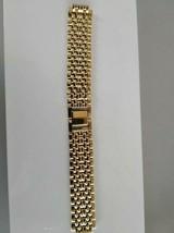 Seiko bracelet gold tone G1505-I - $29.70