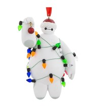 Disney Parks Big Hero Baymax with Lights Holiday Christmas Ornament New w Tag - $25.86