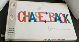 New Chase Back Milton Bradley MB Complete Vintage 1962 Strategy Board Game  - $17.79
