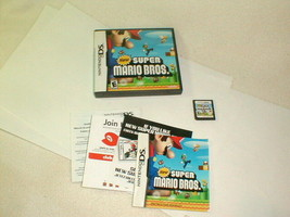 Nintendo ds new super mario bros game complete tested authentic - $28.00