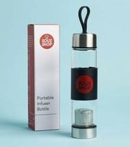 Teahaus Sous Shop Reise Tragbar Doppelwand Glas Tee Flasche Tee-Ei - $19.79