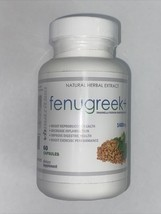 VH Nutrition Fenugreek+ 1400 mg Natural Herbal Extract - 60 Capsules - $9.99