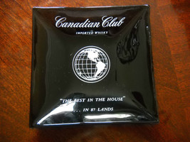 "Canadian Club Imported Whiskey ""The Best in The House"" Collectors Square... - $7.84"