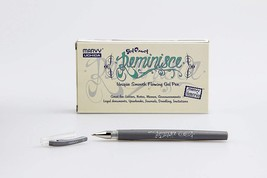 Marvy Uchida Reminisce Gel Pen Open Stock-Silver - $5.22