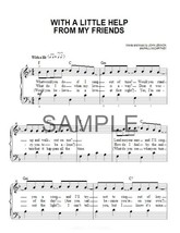 Fabric Fabric Block - With A Little Help From My Friends - Classic Rock ... - $15.50