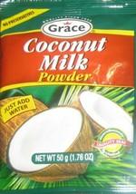 Grace Coconut Milk Powder 50g / 1.76oz - (12 Packs) - $24.26