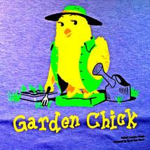 Gildan T-shirt Chick Cotton Garden S XL NEW Sports Girls NWT - $20.20