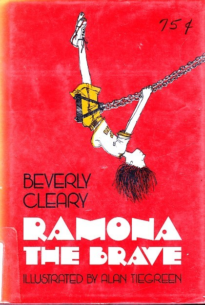 Primary image for Ramona The Brave, Beverly Cleary, Alan Tiegreen, Morrow Junior Hardcover, 1975