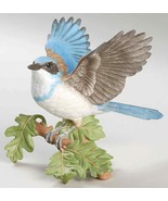 THE LENOX GARDEN BIRD COLLECTION Western Scrub Jay (2001 Fine Porcelain) - $118.75
