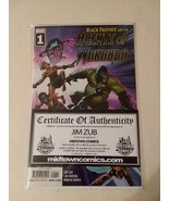 AGENTS OF WAKANDA #1 SIGNED + BLACK PANTHER COLORING BOOK - FREE SHIPPING - $28.04