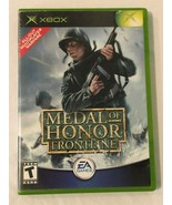 Xbox Medal of Honor Frontline Video Game Case Disk No Manual Tested - $4.99