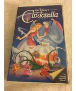 Walt Disney Cinderella VHS Black Diamond Classic Clamshell Case - $5.99