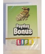 The Game of Life Replacement Payday Bonus Cards Sealed Package free ship... - $6.92