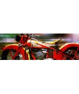Classic Blood Brother by Garland Greg Flowers Vintage Red Indian Motorcy... - $286.11