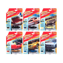 Classic Gold 2018 Release 3 Set A of 6 Cars 1/64 Diecast Models by Johnn... - $61.66