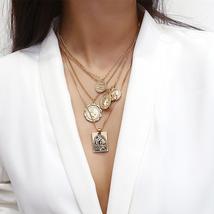 Multi Layer Pendant Choker Necklaces Pendant - $11.99