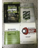 1995 TOYOTA LAND CRUISER Service Shop Repair Manual Set EWD & Body + Fla... - $182.61
