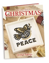 Joyful Tidings A Cross Stitch Christmas hardcover cross stitch book Craf... - $32.00