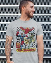 The Invaders Kid Commandos T-shirt vintage 1970's marvel comics silver age tee image 3