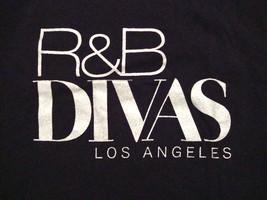 R&B Divas Los Angeles TV One Show Reality Black Souvenir T Shirt M - $14.84