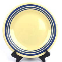 "Fiestaware Retro Blue Stripe Dinner Plate 10.5"" HLCCA Exclusive New 1st Quality - $77.29"