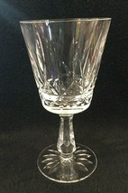 "Older Waterford Rosslare Cut Water Goblet Crystal Glass 6 3/4"" Excellent... - $49.01"