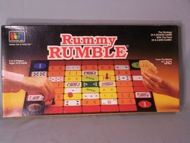 Rummy Rumble - Number One in Family Fun - Board & Card Game Strategy - $9.45