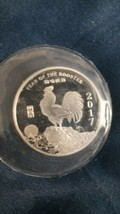 2017 1/2 oz Silver Round - Year Of The Rooster - $25.00