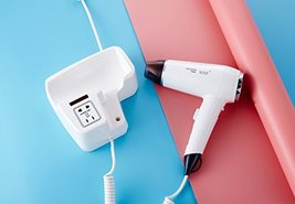 XZST New Type Hotel Bathroom And Home Wall Mount Hair Dryer Dry Skin Hanging Hai image 3