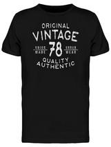 Original Vintage 78 Men's Tee -Image by Shutterstock - $359,52 MXN+