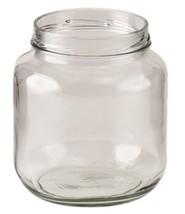 64 oz Wide Mouth Jars 110 Lug BPA free Food Grade Half Gallon No Lid - $5.38