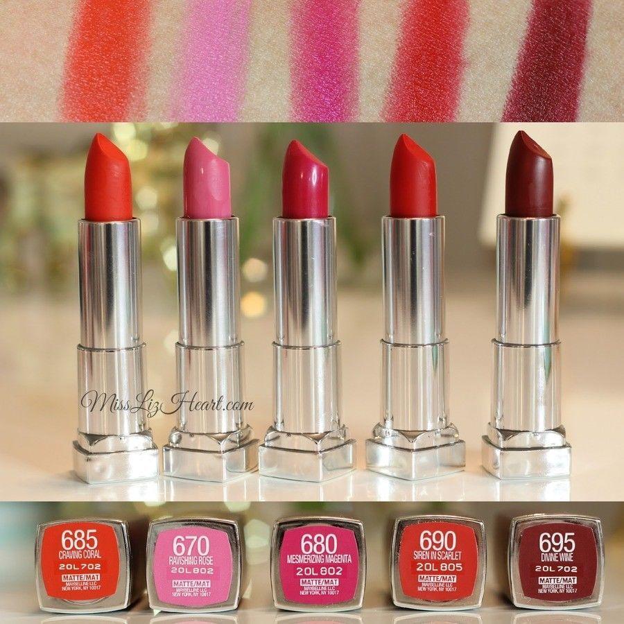 13 Sensational Schemes That Are: Maybelline New York Color Sensational Lipcolor Lipstick