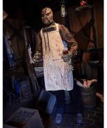 Halloween 6 Ft Burlap Horror Scarecrow Animatronics - $446.48