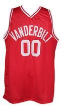 Steve Urkel Vanderbilt Family Matters Basketball Jersey New Sewn Red Any Size image 3
