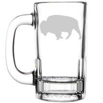 12oz Beer Mug Stein Glass Buffalo - $12.86