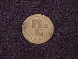 Vintage Magic Inn 25 Cent Token, Union and 6th, Portland Oregon - $5.95