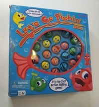 Pressman Let's Go Fishin' Fast Action Fishing Game 2013 100% Complete - $16.98