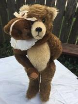 Thurston McMindes Hand Made Mohair Bear Set Gladstone & Sara OOAK Signed - $138.55