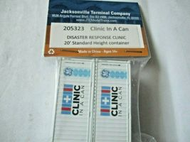 Jacksonville Terminal Company # 205323 Clinic In A Can  20' Standard Container image 3