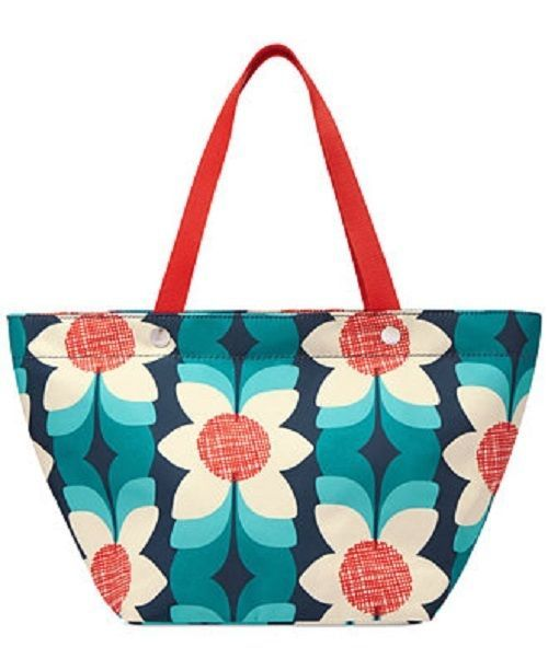 New Fossil Women Key-Per Shoppers Floral Tote Bag Multicolor - $76.99