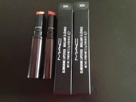 MAC Slimshine Lipstick ~ Gentle Simmer X 2 ~ NIB  - $14.99