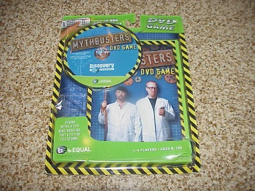 Mythbusters DVD Game by bEqual/ZOOtech/Discovery - $28.42