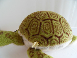 Steiff turtle turtoise large with  button stuffed animal Germany 2539 - $61.74