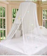 tkcreativelinenswholesale White Bed Canopy Mosquito Netting with Hook Go... - $49.48