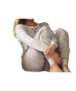Felina Women's 2 pc Terry Lounge Set Top & Jogger Pajamas Gray Sz 2XL - $21.57
